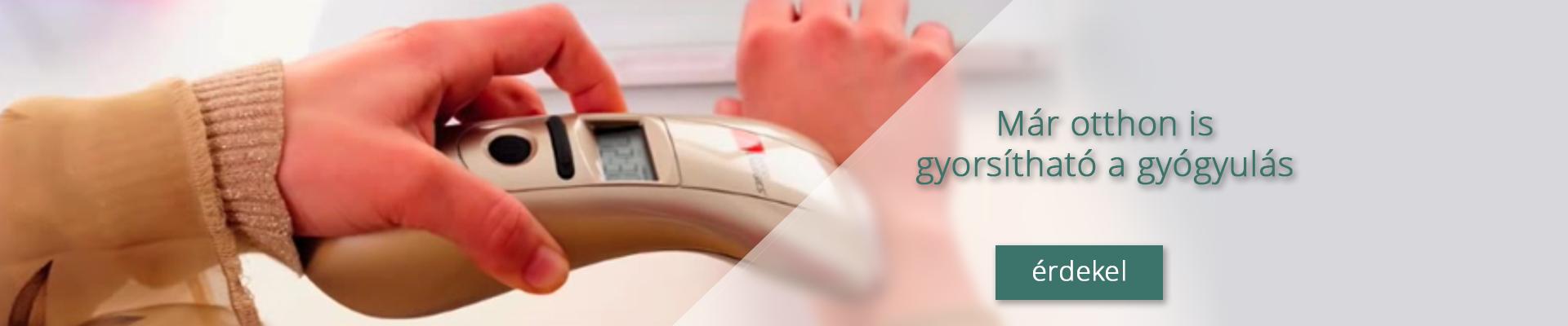 Fájdalomcsillapítás? Gyulladáscsökkentés? Sebgyógyítás? Mindez otthon, mégis precízen és kényelmesen? Mellékhatások nélkül és klinikailag igazolt hatásfokkal?