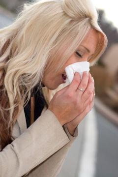 Szánanátha kezelése, allergiás tünetek