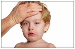 Ha beteg a gyerek, a lázmérés is igazi kihívás
