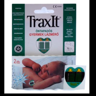 Folyadékkristályos TraxIt baba lázmérő